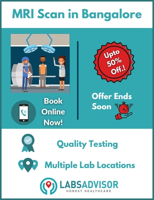 Lowest MRI scan cost in Bangalore!