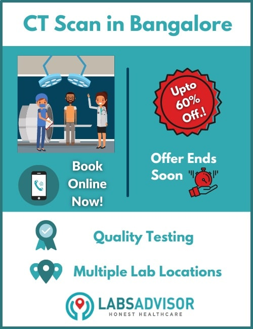 Up to 60% off on CT scan cost in Bangalore!