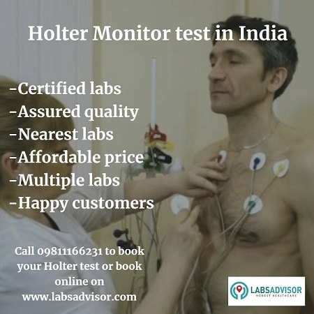 View Holter Test Price in all the best labs in India.