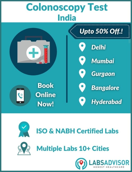 Lowest Colonoscopy Cost in India!