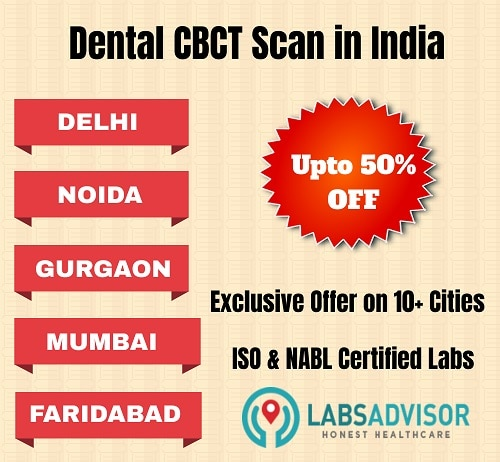 Lowest Dental CBCT scan cost in India!
