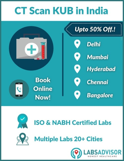 Lowest CT KUB Test Price in India!
